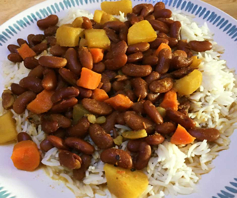 make rajma chawal recipe indian style