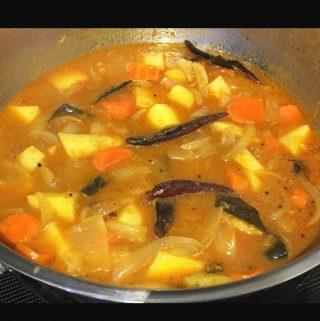 potato carrot curry recipe easy