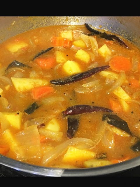 potato carrot curry recipe easy
