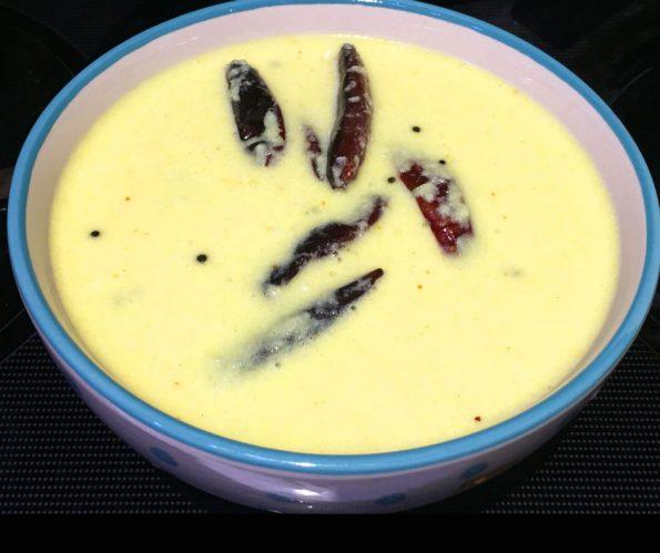 pulissery recipe kerala style