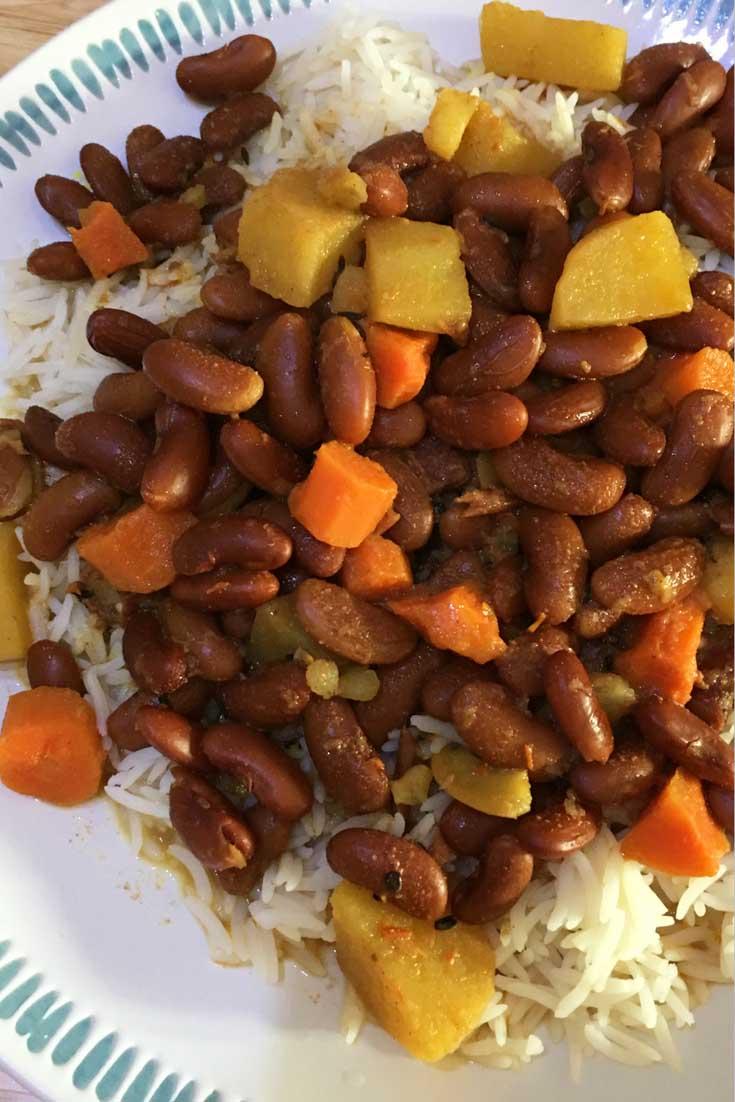 rajma chawal recipe for dinner