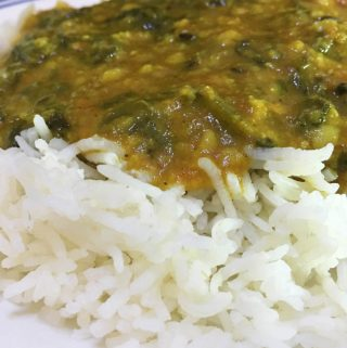Spinach Curry Indian Recipe – Spinach Dal Curry For Rice – Keerai/Cheera Parippu Curry