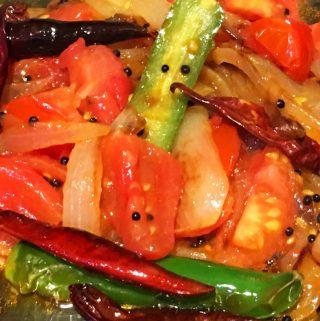 tomato fry kerala style recipe