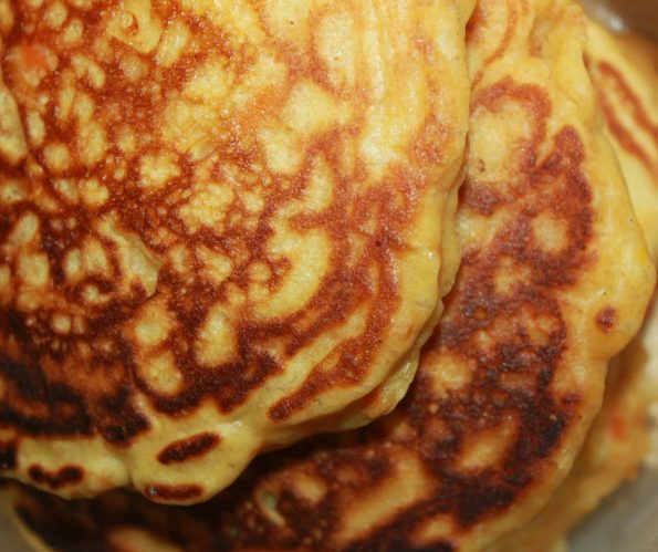 carrot pancakes recipe