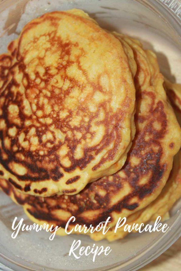 carrot pancakes recipe for breakfast