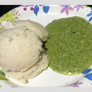Coriander Chutney For Dosa & Idli – Green Coriander Chutney Recipe South Indian Style