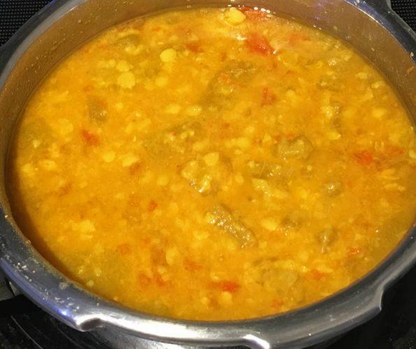 cucumber sambar for rice dosa idli