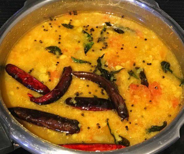 cucumber sambar recipe