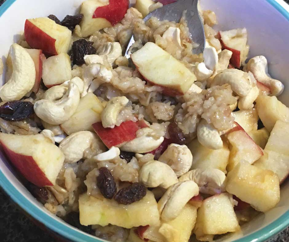 dairy free oatmeal without milk recipe