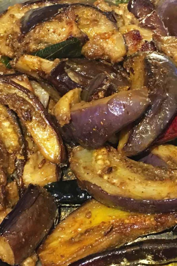 easy eggplant stir fry recipe south indian style