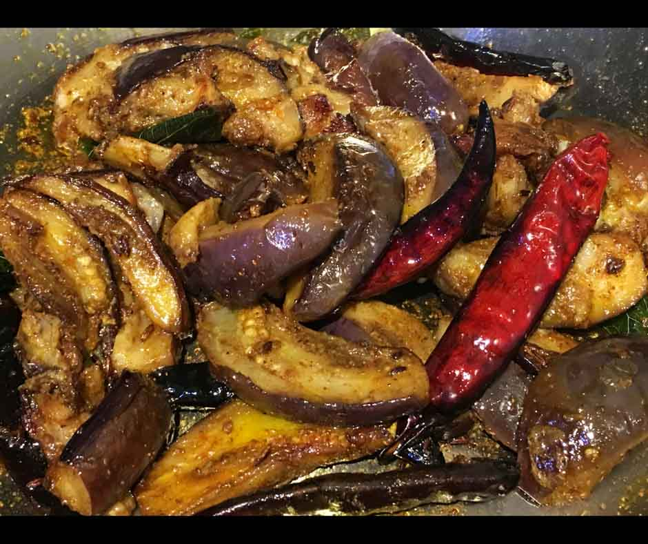 easy eggplant stir fry recipe