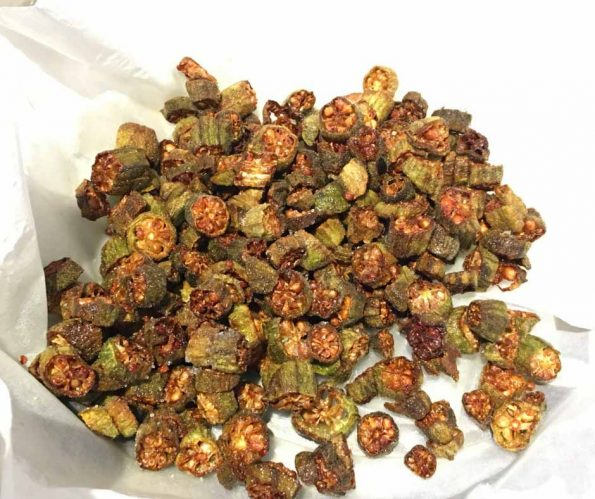 easy fresh fried okra recipe