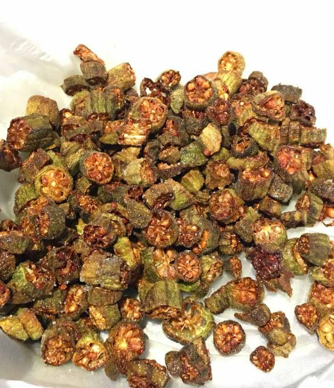 Easy Fresh Fried Okra Recipe – Cooking Okra Without Slime – Ladyfinger Fry Recipe