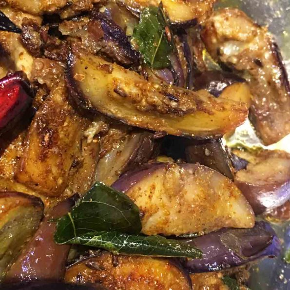 easy stir fried eggplant recipe
