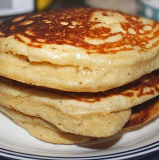fluffy pancake recipe from scratch