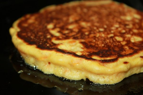 homemade carrot pancakes recipe from scratch