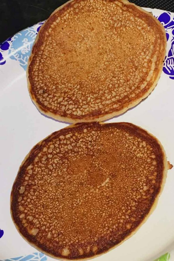 homemade pancakes without eggs