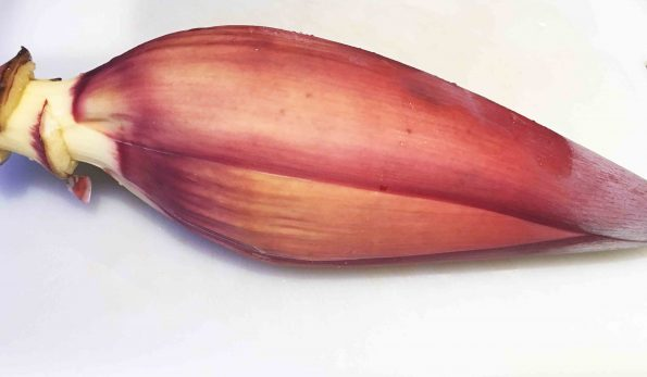how to cook banana flower