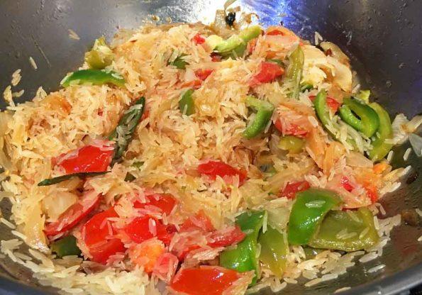 how to prepare tomato rice recipe