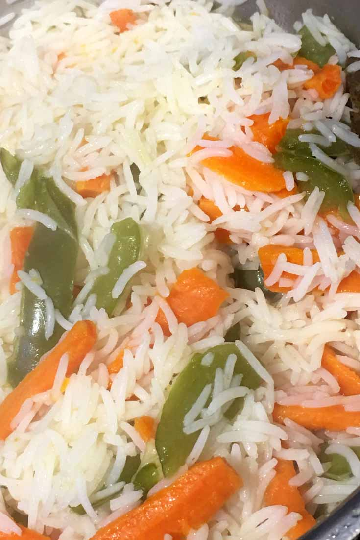 mixed vegetable rice recipe for dinner