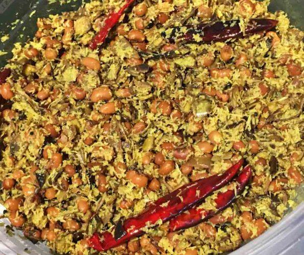 south indian banana flower recipe