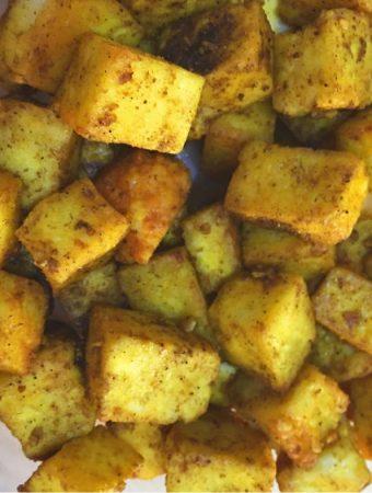 dry paneer recipe in oven