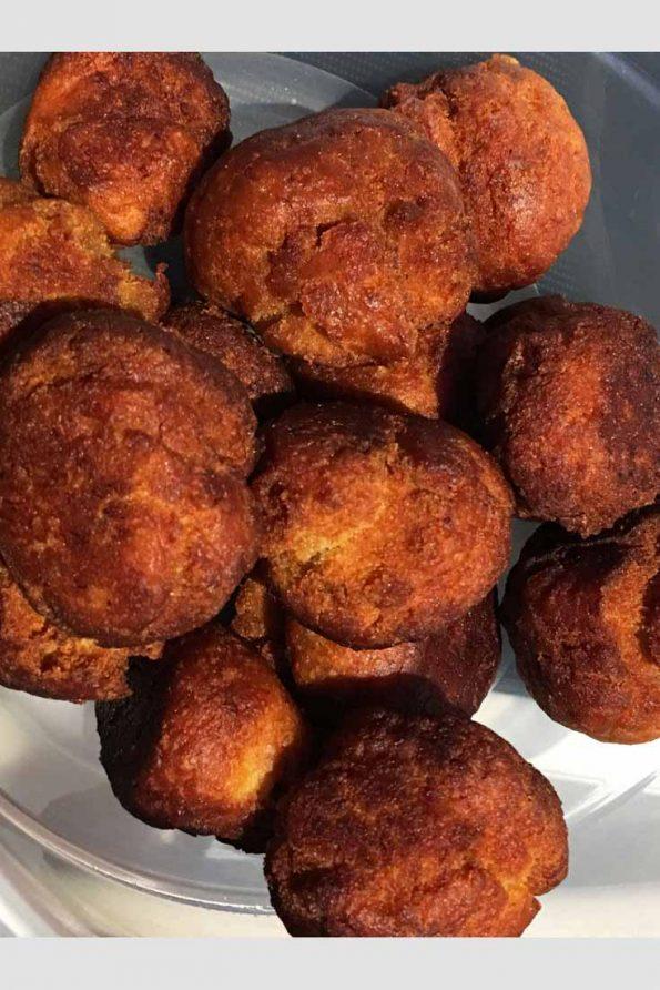 easy fried banana balls recipe