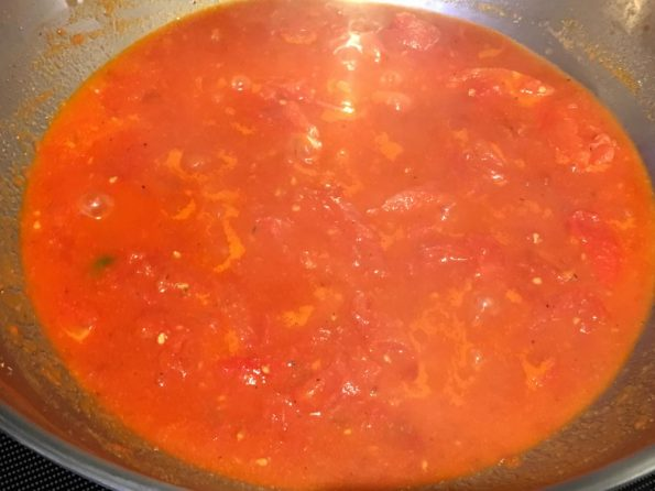 marinara tomato sauce for pasta without cheese