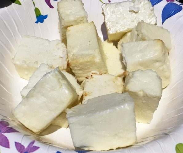 oven roasted paneer recipe
