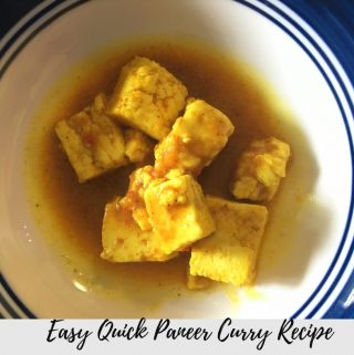 Quick Paneer Curry Recipe – How To Cook Paneer Curry For Chapathi, Dosa & Rice Quickly