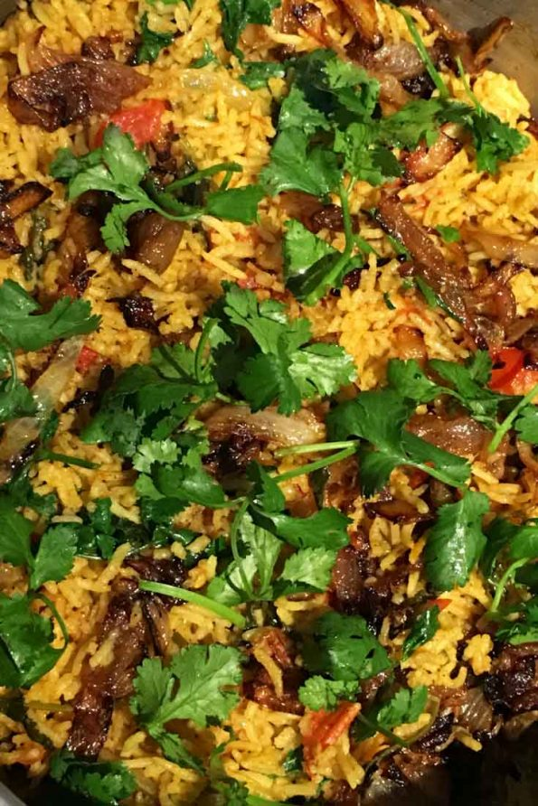 simple vegetable biryani recipe
