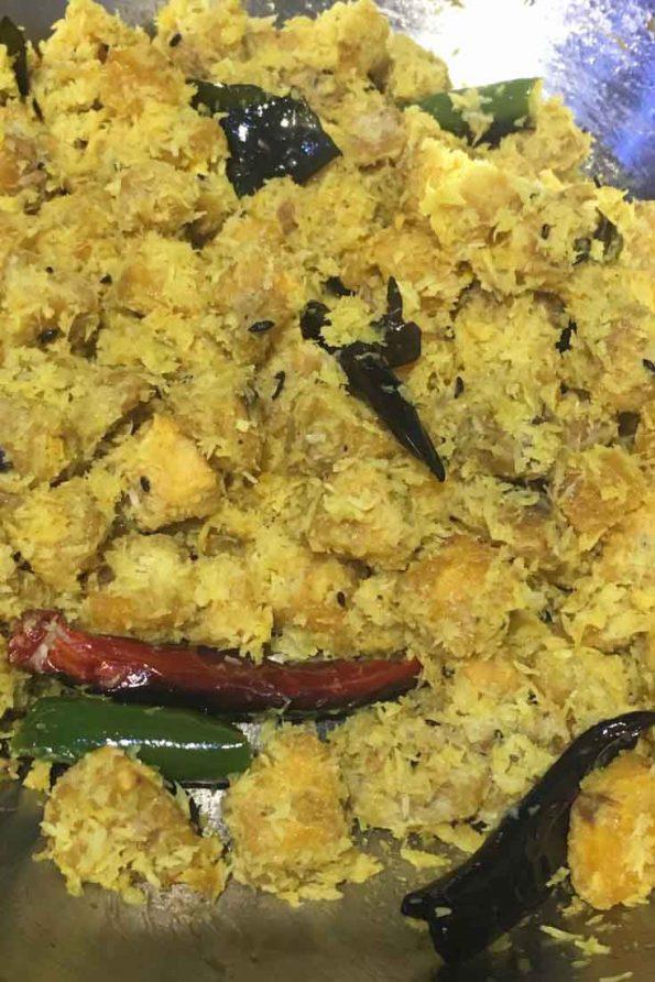 vazhakka thoran kerala style recipe