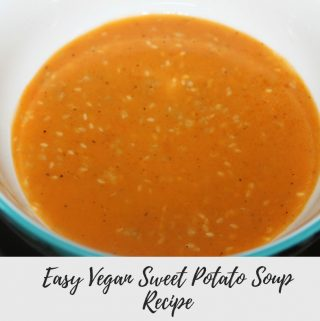 vegan sweet potato recipe