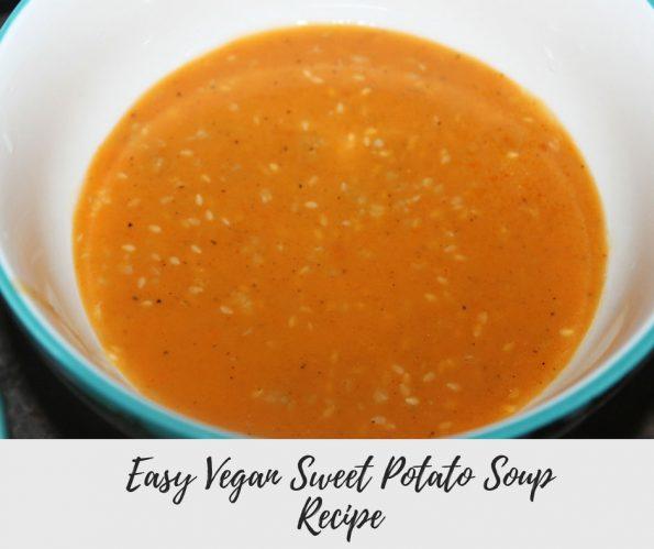 vegan sweet potato soup recipe
