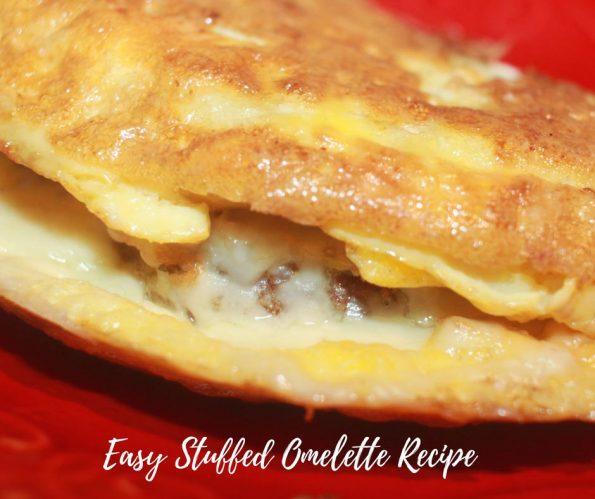 Easy Stuffed Omelet Recipe