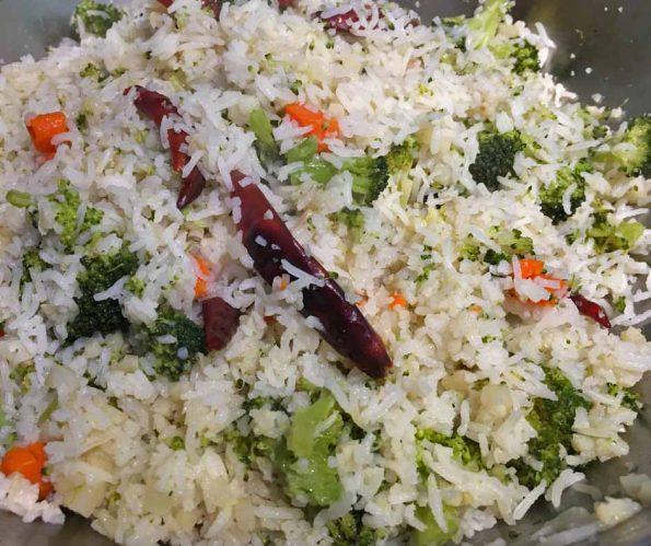 broccoli and cauliflower rice recipe easy