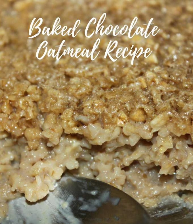 Chocolate Flavored Oatmeal Recipe Using Chocolate Horlicks – Easy Baked Oatmeal Dessert Recipe For Breakfast Or Snack