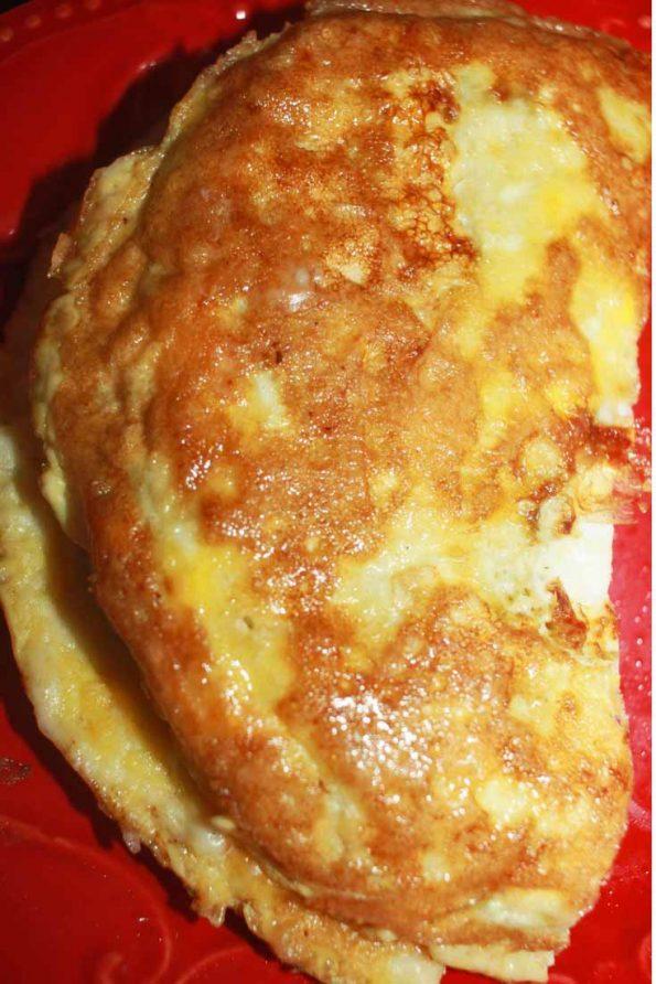 easy stuffed omelette recipe