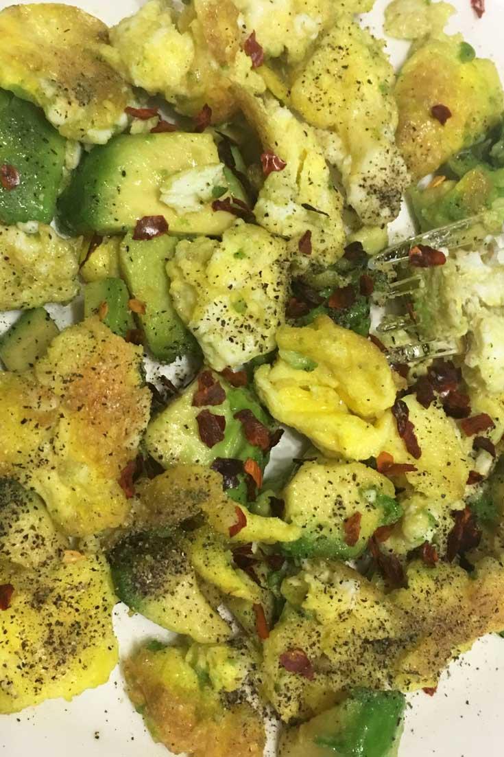 egg avocado breakfast recipe vegetarian keto friendly