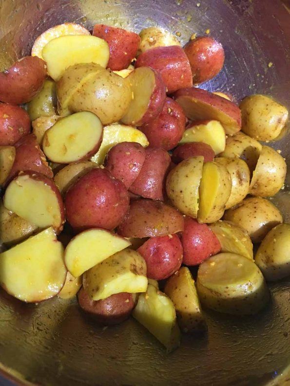 how to bake creamer potatoes in oven