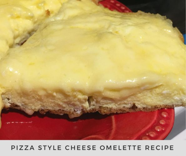 how to make pizza style omelet recipe