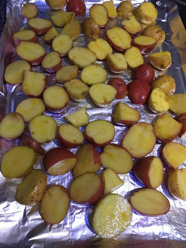 how to roast creamer potatoes in oven