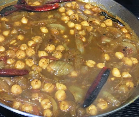 kadala curry for chapathi