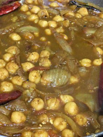 kadala curry for chapathi recipe