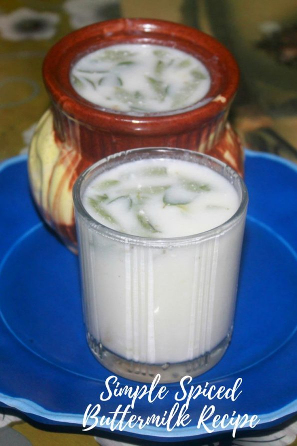 kerala style indian buttermilk recipe