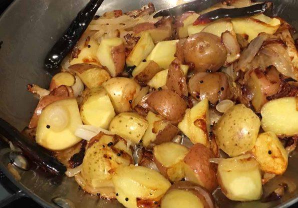 make pan fried potatoes recipe