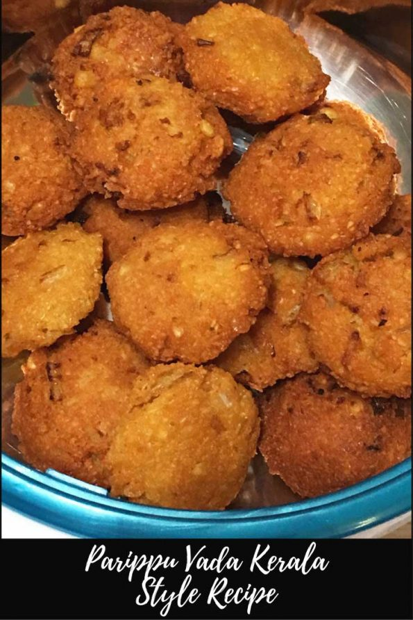 parippu vada recipe kerala style