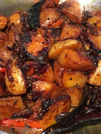 pan fried red potatoes recipe