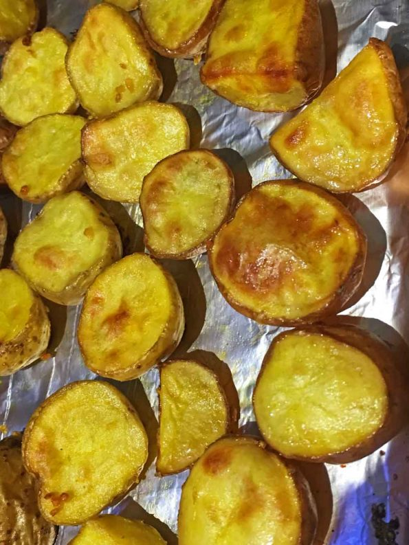 roasted baby potatoes recipe