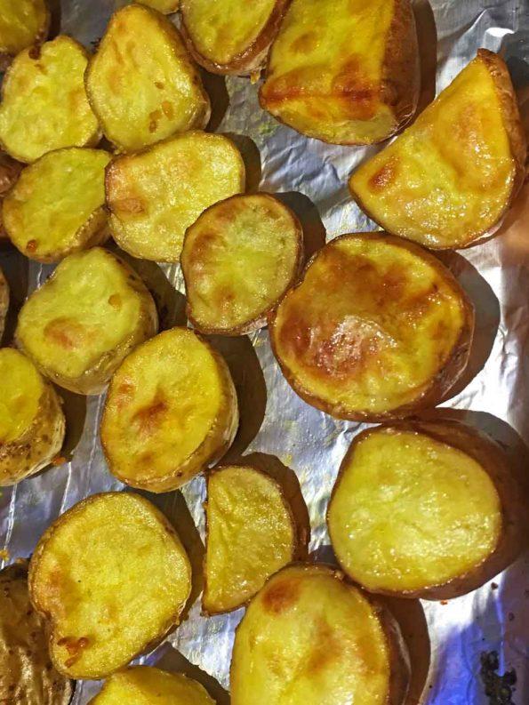roasted baby potatoes recipe